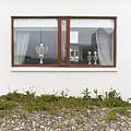 Facade - A Window With A Trophy To Show by Kobi Amiel