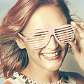 Fashion Eyewear Pin-up by Jorgo Photography - Wall Art Gallery