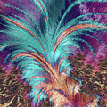 Feather Abstract by MS  Fineart Creations