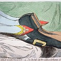 Fashionable Contrasts by James Gillray