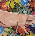 Fashionista Pig by Michelle Hayden-Marsan