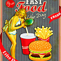 Fast Food Of The Day by Don Kuing