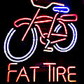 Fat Tire Neon Sign by Flo DiBona