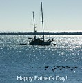 Father's Day Card - Peaceful Bay by Carol Groenen