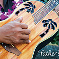 Father's Day Guitar by Denise Bird