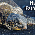 Father's Day Honu by Denise Bird