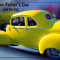 Father's Day W Frame by Beverly Guilliams