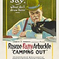 Fatty Arbuckle In Camping Out 1919 by Mountain Dreams