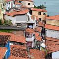 Favela In Salvador Da Bahia Brazil by Ralf Broskvar