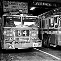 fdny fire station with engine 54 and ladder 5 battalion 9 New York City USA by Joe Fox