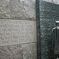 Fdr Memorial - Shared Sacrifice by Ronald Reid