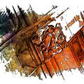 Fear Earthy Rainbow 3 Dimensional by Di Designs
