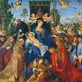 Feast Of Rose Garlands by Albrecht Durer