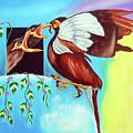 Feather Touch by Ragunath Venkatraman