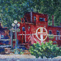 Featherbed Railroad Caboose by Joe  Geare