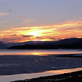 February Sunset by Victor K