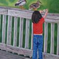 Feeding The Ducks by Jill Ciccone Pike