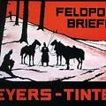 Feldpost-briefe - Beyers-tinten - Two Man With Horses - Retro Travel Poster - Vintage Poster by Studio Grafiikka