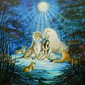 Feline Family... Love by Silvia  Duran