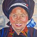 Fellow Traveller Great Wall by Lisa Boyd