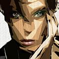 Female Expressions Xliv by Rafael Salazar