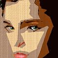 Female Expressions Xlviii by Rafael Salazar