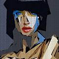Female Expressions Xvi by Rafael Salazar