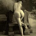 Female Nude, Circa 1900 by French School