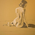 Female Nude Five by George Wade