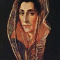 Female Portrait by El Greco