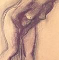 Female Standing Nude by Edgar Degas