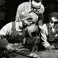 Female Welders - Ww2 Homefront - 1943 by War Is Hell Store