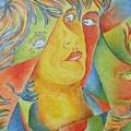 Femme Aux Trois Visages by Claire Gagnon