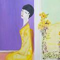 Femme En Jaune by Michela Akers