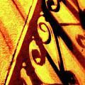 Fence Shadows 5 by Ken Lerner