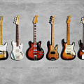 Fender Guitar Collection by Mark Rogan
