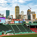 Fenway Park Field  by Joseph Caban