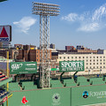 Fenway Park Green Monster Wall by Susan Candelario