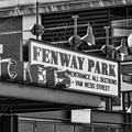 Fenway Park Tickets Bw by Susan Candelario