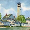Fenwick Island Lighthouse by Paul Temple