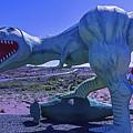 Ferious Dinosaur Trex by Garry Gay