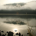 Fernan Fog by Idaho Scenic Images Linda Lantzy
