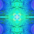 Ferns 2j Hotwax 3 Fractal by Julia Woodman