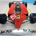 Ferrari 126ck Front Museo Ferrari by Paul Fearn