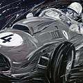 Ferrari 1958 Hawthrorn by Roberto Muccilo