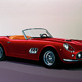 Ferrari 250 Gt California Spyder 1957 Painting by Paul Meijering