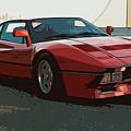 Ferrari 288 Gto - Powerslide by Andrea Mazzocchetti