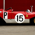 Ferrari 312 Profile 1971 by Curt Johnson