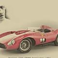 Ferrari 335 S by Paolo Grasso