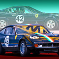 Ferrari 365 Gtc4 by Stuart Row